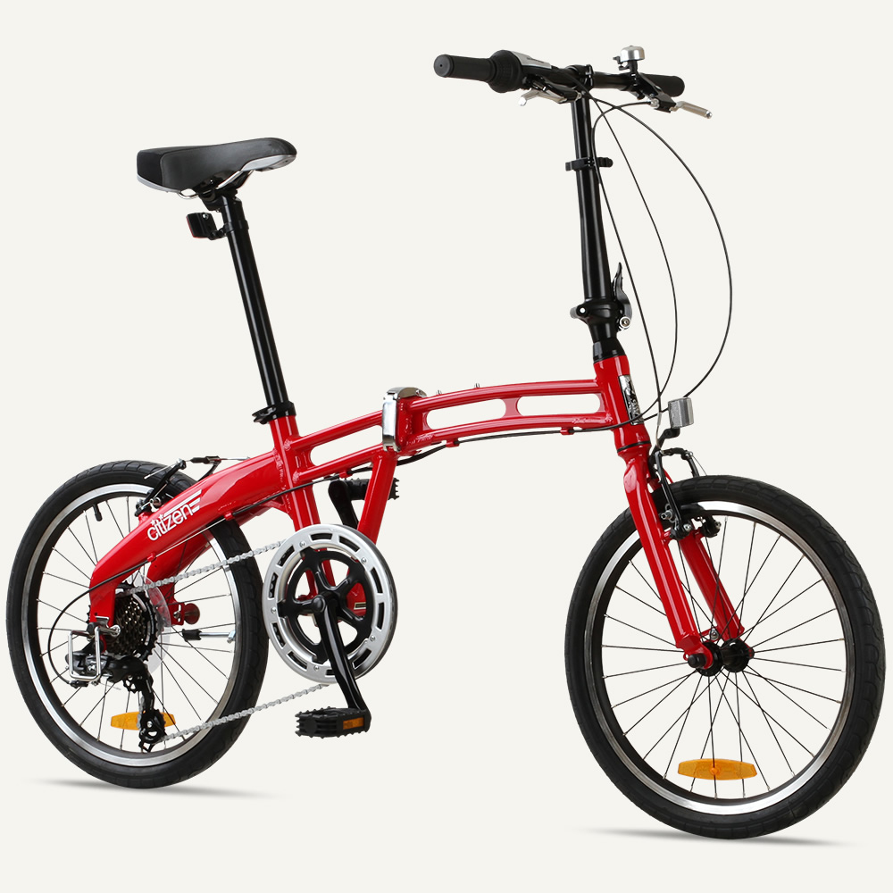 "GOTHAM7 Citizen Bike 20"" 7-Speed Folding Bike with Alloy Frame"